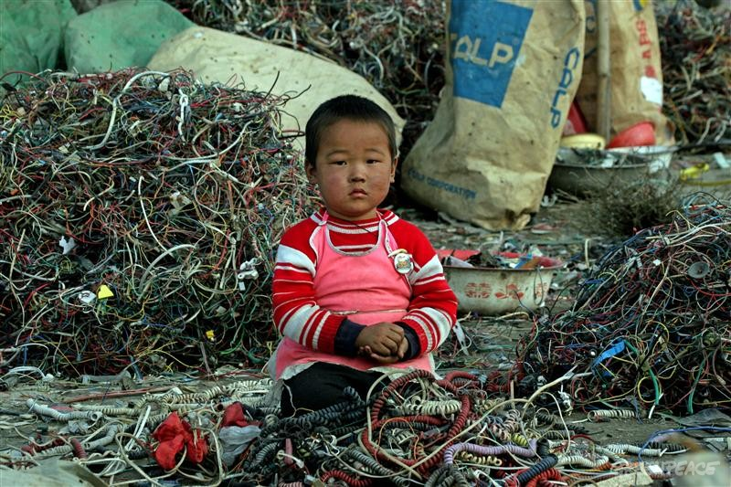 Asie začíná mít problémy s elektroodpadem