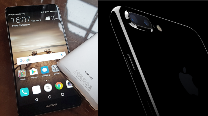 Huawei P10 vs iPhone 7 Plus