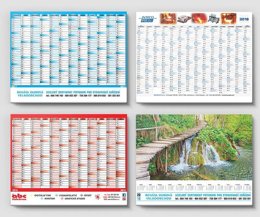 Potřebujete pozvánky nebo kalendáře? Nechte si je vytisknout profesionály!